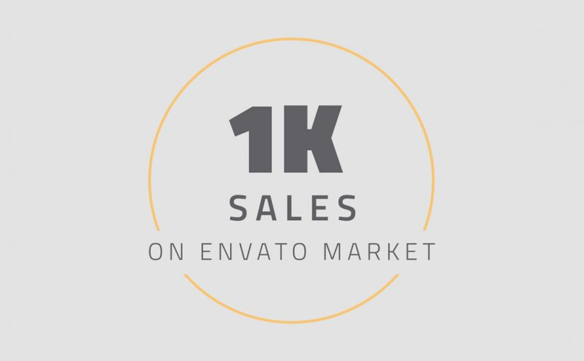 1,000 sales milestone